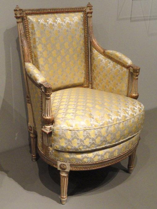 Fauteuil Louis XVI par Jean Avisse