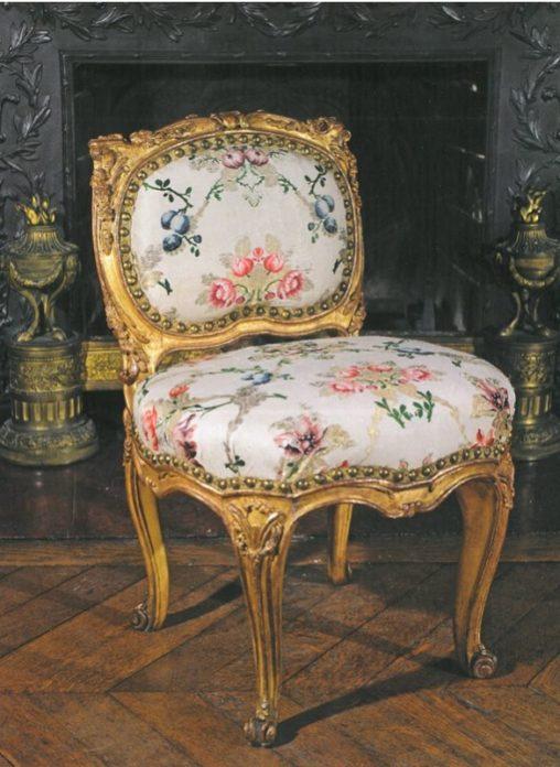 Chaise attribuée à Tilliard