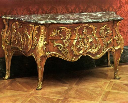 Commode Rocaille d'Antoine Gaudreaux