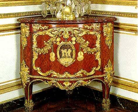 Encoignure Louis XV de Joubert