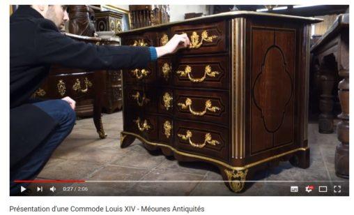 Vidéo d'antiquités
