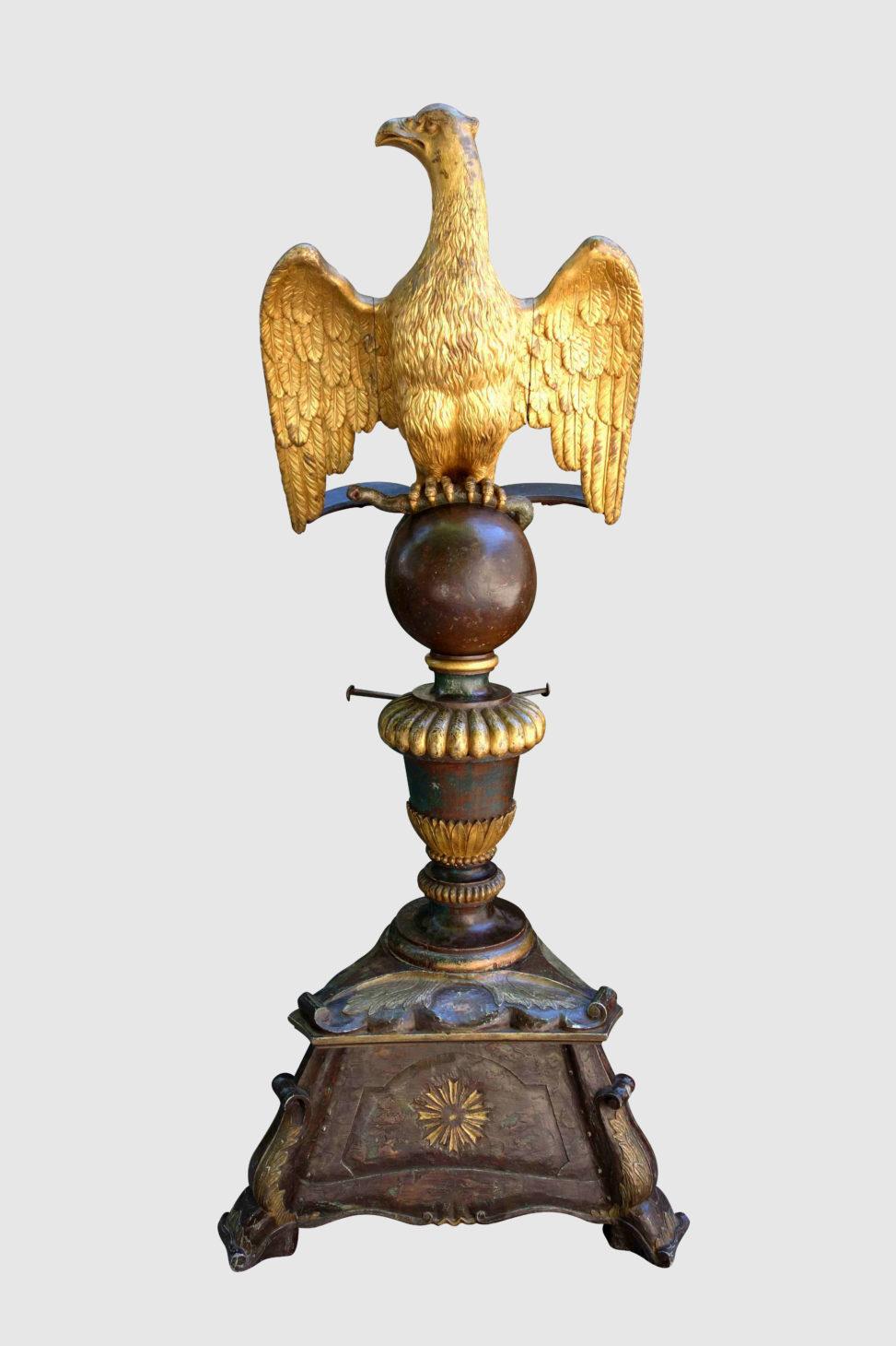 Lutrin à l'aigle doré