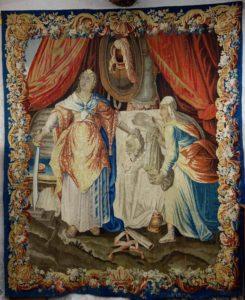Tapisserie d'Aubusson: la décapitaion d'Holopherne, 17e siècle