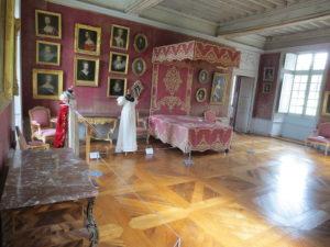 Chambre du Château de Bussy-Rabutin