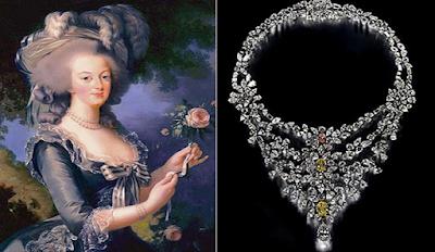 Bijoux de Marie-Antoinette
