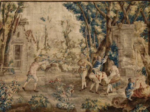 Tapisserie de la manufacture de Beauvais.