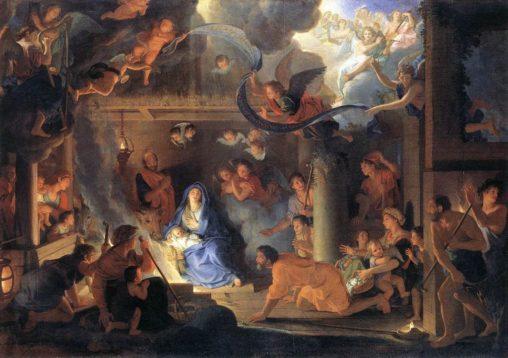 La Nativité par Charles Le Brun