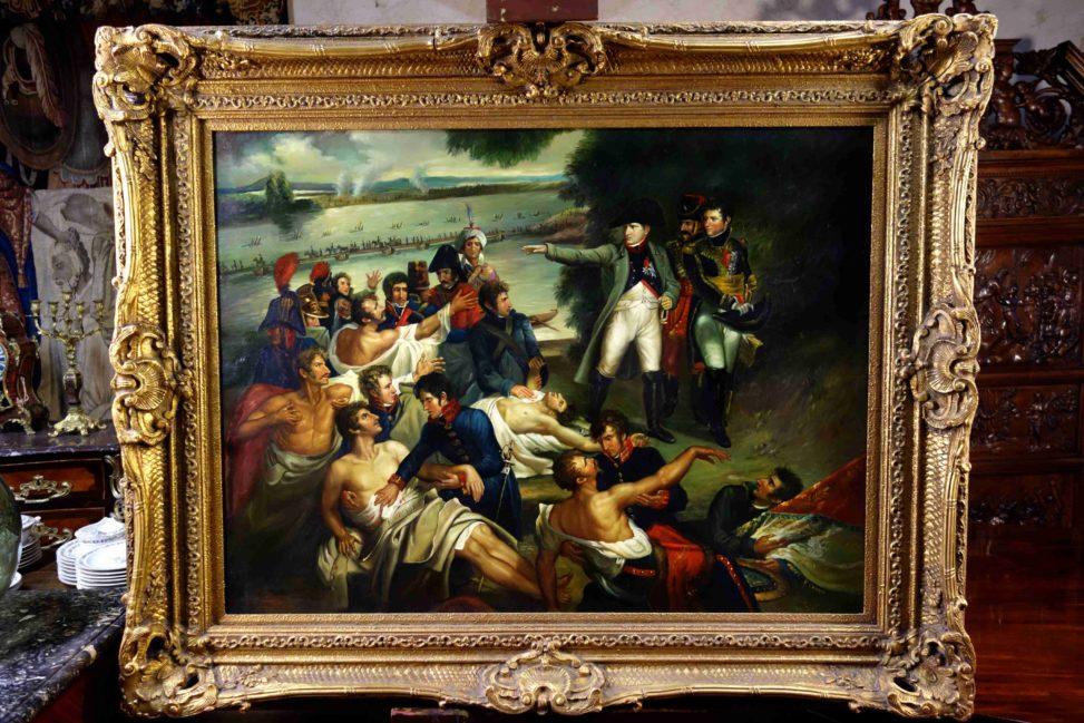 Retour de Napoléon sur l'île de Lobau